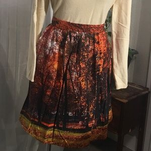 ModCloth Exclusive A-Line Full Skirt 2X